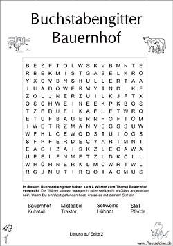 Buchstabenrätsel zum Ausdrucken | Raetseldino.de