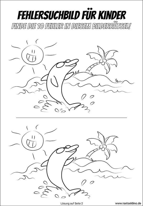 delfin bilder ausdrucken