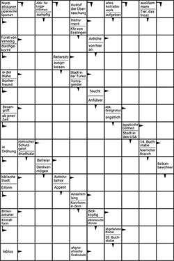 Kreuzworträtsel zum ausdrucken gratis Fußball rätsel