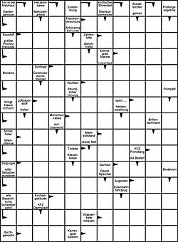 Kreuzworträtsel kostenlos ausdrucken | Raetseldino.de