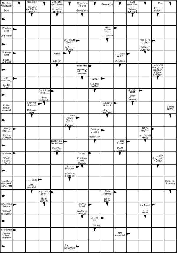 Kreuzworträtsel kostenlos downloaden