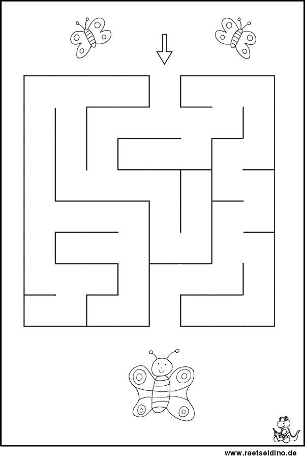 labyrinth r tsel f r kindergartenkinder leicht. Black Bedroom Furniture Sets. Home Design Ideas