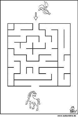 Labyrinth Rätsel Und Irrgarten Bilder Raetseldinode