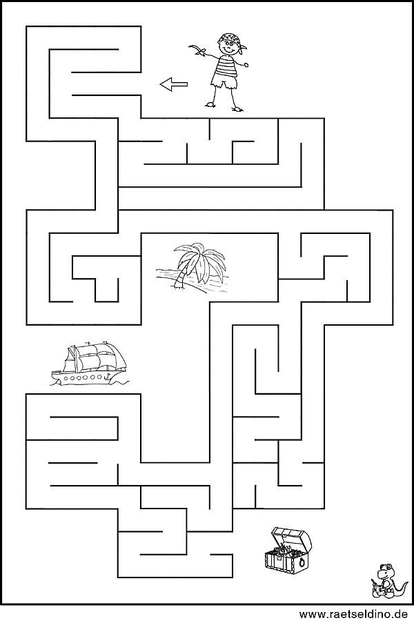 labyrinth vorlage f r kinder zum ausdrucken. Black Bedroom Furniture Sets. Home Design Ideas