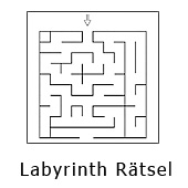 Labyrinth Rätsel