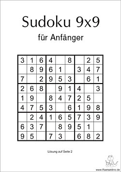 sudoku für anfänger online