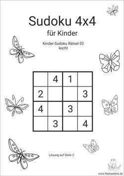 Sudoku Kinder Online